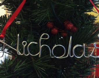 Nicholas ornament