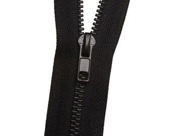 Metal No. 3 Zipper - Matte Black