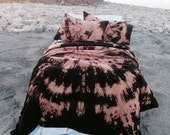 Bohemian Bedding (Twin/XL Twin or Full/Queen/King) Duvet Set - Super Soft 100% Cotton, Hand-dyed