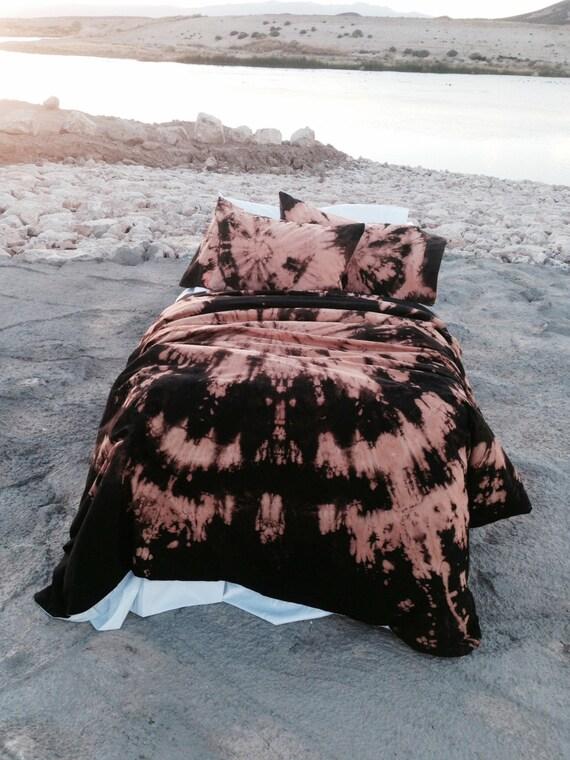 Black Amp Orange Bohemian Bedding Twin Xl Twin