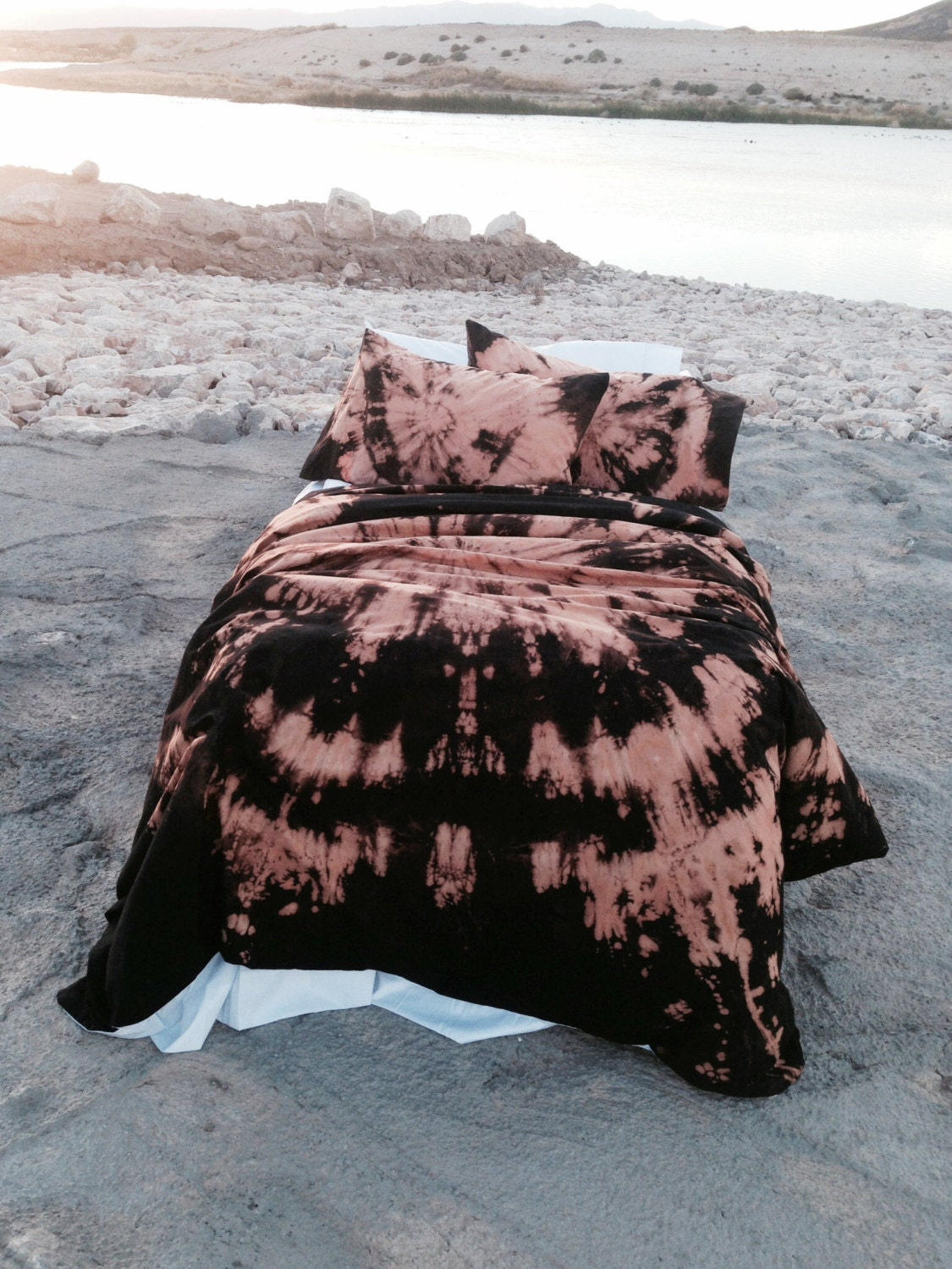 Black Amp Orange Bohemian Bedding Twin Xl Twin