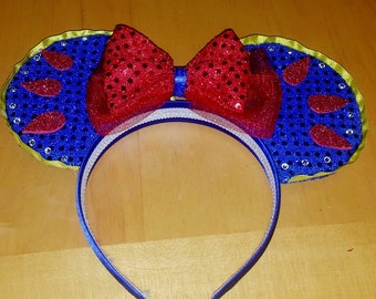 Snow White Mickey Ears