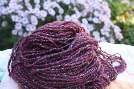 Knitting With Handspun : Annabelle knitting yarn handspun from