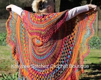 Hippie Love Crochet Vest