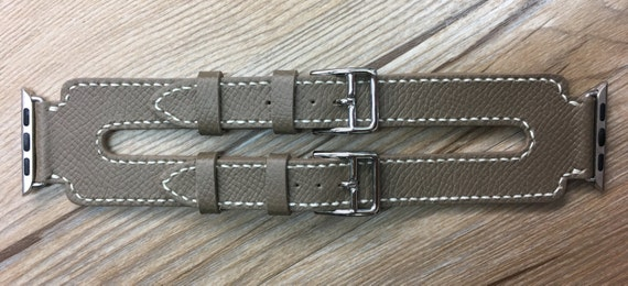 Apple Watch Band   Apple Watch Strap   Double Buckle Cuff Watch Band   Ètoupe Swift Double Buckle Cuff For Apple Watch 38mm & 42mm