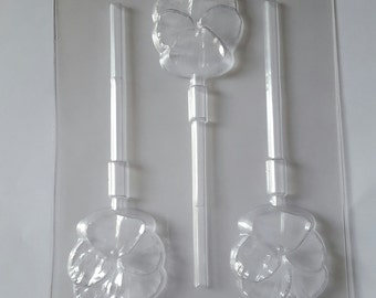 Orchid Lollipop Candy Mold