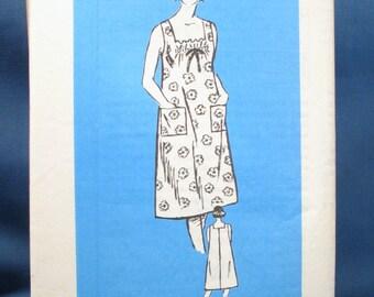 Vintage Misses Summer Dress Sewing Pattern 4967 - Size 10-1/2