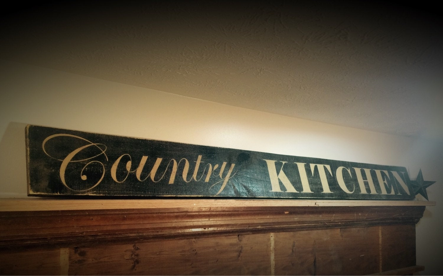 Country Kitchen Sign Rustic Kitchen Sign Country Signs
