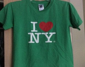 Vintage I Love New York Shirt XS