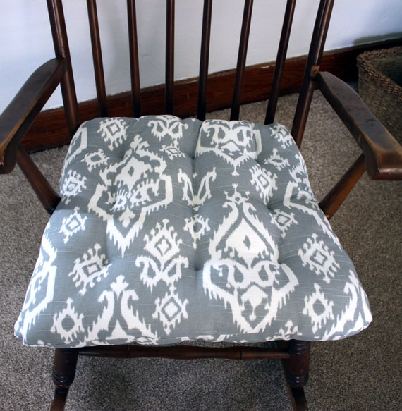 Ikat Rocking Chair Cushions Rocking Chair Pads Glider Rocker