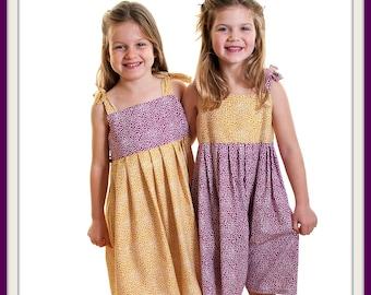 Designer Dashwood fabrics 'Flurry' dresses