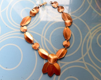 Great Copper Art Necklace