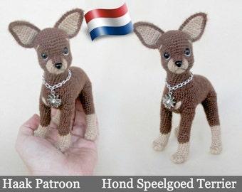 059NLY Speelgoed Terrier hond - Haak Patroon PDF file Amigurumi by Chirkova Etsy