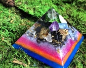 Orgonite Mini Pyramid Orgone Generator