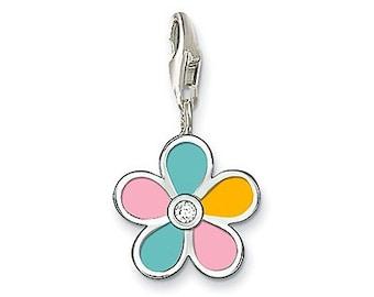 charms argent divers nature fleur,Bracelet Charm,sterling silver charm,Bracelet européen,pendentif, Style Européen à breloques