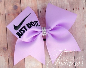Cheer Bow,  Light Purple cheer bow, cheer bows, gifts for cheerleaders, gift for cheerleader, team cheer bows - cheer bow with sayings