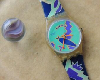 Vintage 1991 Swatch Quartz Watch