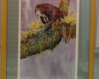 "1995 ""Speckled Bear and Epiphytes"" By Barbara Tarkanian Poster"