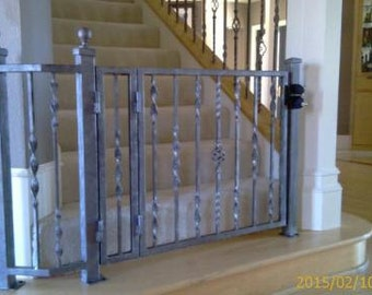 Custom baby Gates for stairs and door ways