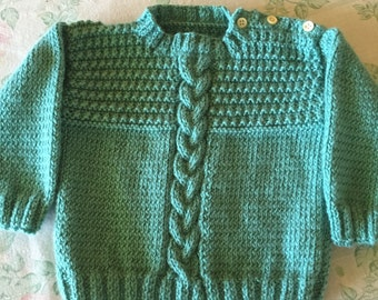 Child's Cable Knit Sweater