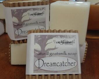 Dreamcatcher fragranced Natural Goatsmilk Soap