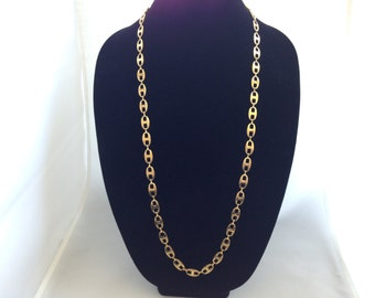 "36"" Vintage Costume Necklace Circa Late 80's Early 90's."