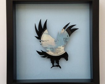 The Eagles 'Best of My Love' Eagle Vinyl Record Art