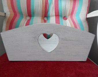 Wooden box,wooden container. Decoupage,shabby chic,gift box,storage box.