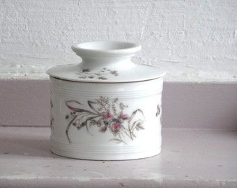 Antique French Butter Dish // French Butter dish