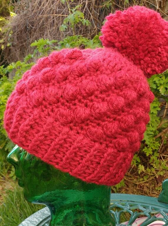 Crochet Pattern Crochet Hat Pattern Bobble Hat Crochet