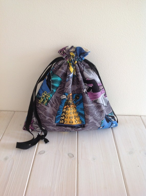 Knitting Project Bags For Sale : Spring sale knitting bag project drawstring