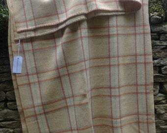 Vintage Welsh Woollen Blanket