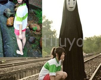 Spirited Away cosplay costume ogino chihiro costume Sen cosplay