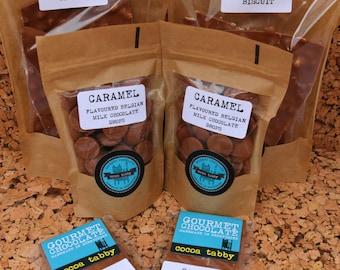 Caramel Flavoured Belgian Chocolate Goodies