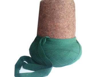 "Handmade Sufi Whirling Dervish Turban Hat ""DESTAR"""