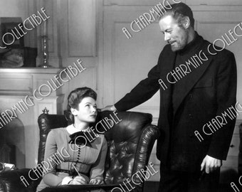 """Gene Tierney & Rex Harrison 5x7, 8x10, 11x14 Photo Print 1947 """"The Ghost and Mrs. Muir"""" Hollywood Classic Art Home Decor Print"""