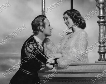 "NORMA SHEARER & Leslie Howard 5x7, 8x10 or 11x14 1936 ""Romeo and Juliet"" Hollywood Photo Print, Art Print, Photograph Wall Art, Film"
