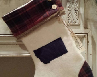 Montana stocking - ready to ship