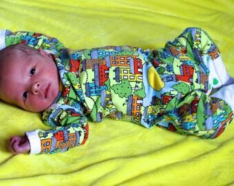 MBJM Harem Romper Prem./Small Newborn - Age 4 pdf sewing pattern