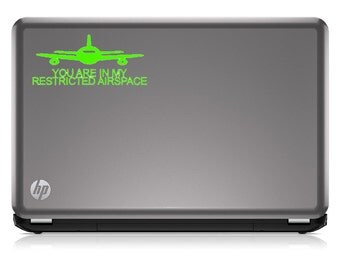 Flying in my Restricted Airspace - Pilot - Vinyl Decal