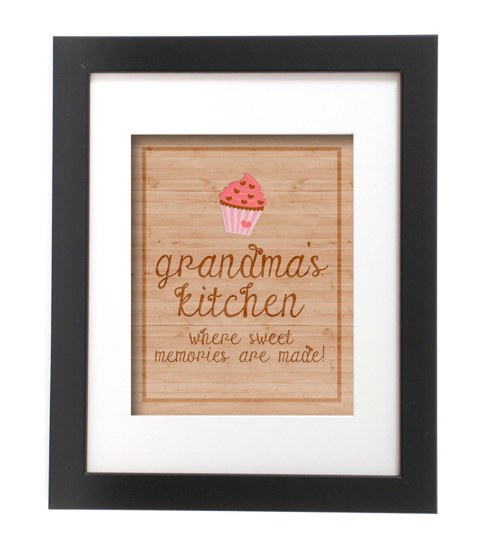 Grandmothers Kitchen: Grandma's Kitchen Grandmother Gift Grandma Kitchen