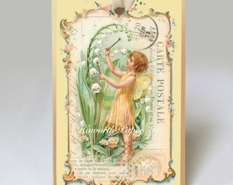 Lilly of the Valley Fairy Gift Tag