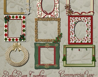 Commercial Use Christmas Frames 1