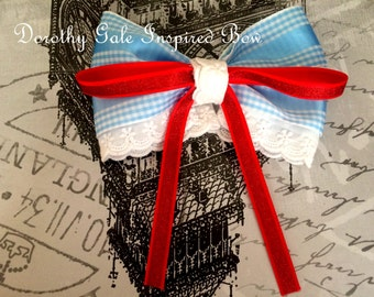 Dorothy (Wizard of Oz) Inspired Bow