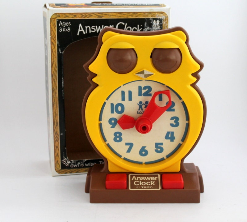 Learn to Tell Time ! Owly Clock by - Puzzles - The Parent ...