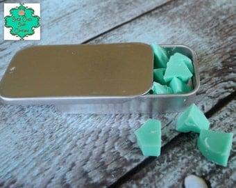 "Travel Soap - Set of 20 ""soap pills"" - Shea Butter soap, Hand soap, Roadtrip soap, Single Use soap"