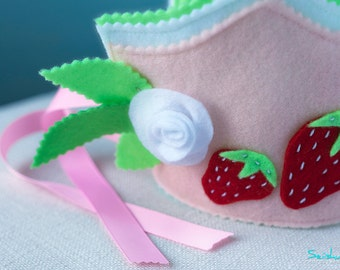 Strawberry Birthday Crown, Strawberry First Birthday, Strawberry Birthday, Girl 1st Birthday Crown, Strawberry Birthday Decor, Baby Crown