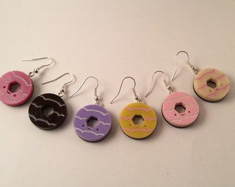 Party Ring Earrings
