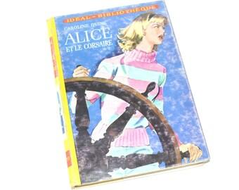 Children's Book French Vintage - Ideal Bibliotheque - Caroline Quine - 1950s French children litterature