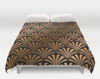 BRONZE DECO  Duvet Cover Double/Full-Queen-King